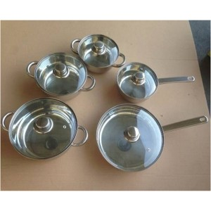 10pcs Cookware Stock