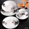 20pcs Porcelain Round Dinner Set