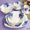 38pcs Porcelain Square Dinner Set