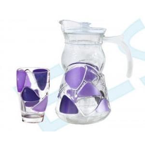 7pcs Glass Drinking Set