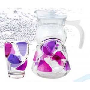 7pcs Glass Drinking Set
